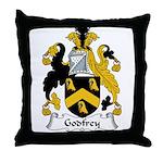 Godfrey Family Crest Throw Pillow