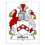 Gilbert Family Crest Small Poster