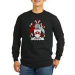 Gilbert Family Crest Long Sleeve Dark T-Shirt