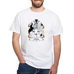 Gibbs Family Crest White T-Shirt