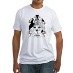 Gibbs Family Crest  Fitted T-Shirt