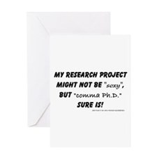 Unique Phd Greeting Card