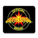 Official Battlestarr Brand Mousepad
