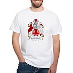 Garroway Family Crest White T-Shirt