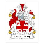 Garroway Family Crest Small Poster