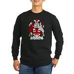Garroway Family Crest Long Sleeve Dark T-Shirt