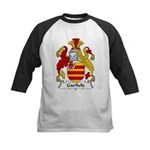 Garfield Family Crest Kids Baseball Jersey