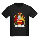 Garfield Family Crest Kids Dark T-Shirt