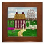 Cherry Tree Farm Framed Tile