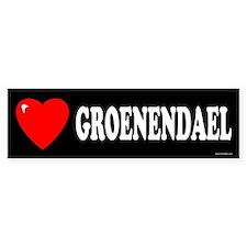 GROENENDAEL Bumper Bumper Sticker