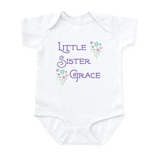 Little Sister Grace Infant Bodysuit