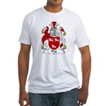 Fry Family Crest  Fitted T-Shirt