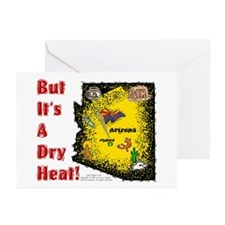AZ-Dry Heat! Greeting Cards (Pk of 10)