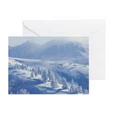 Snow Mountain Greeting Cards (Pk of 20)