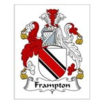 Frampton Family Crest Small Poster