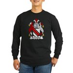 Frampton Family Crest Long Sleeve Dark T-Shirt