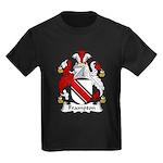 Frampton Family Crest Kids Dark T-Shirt