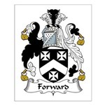 Forward Family Crest Small Poster