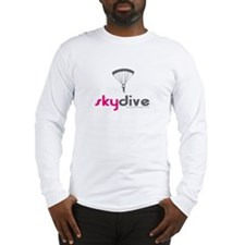 Pink Skydive Long Sleeve T-Shirt