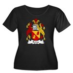 Ferne Family Crest  Women's Plus Size Scoop Neck D