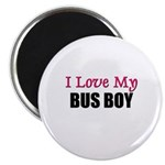 I Love My BUS BOY Magnet