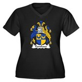 Farnham Family Crest  Women's Plus Size V-Neck Dar