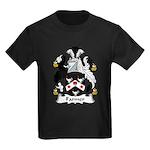Farmer Family Crest  Kids Dark T-Shirt