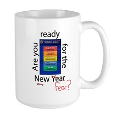 New Year (fear) Large Mug