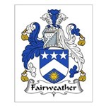 Fairweather Family Crest Small Poster