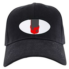 Vintage Microphone (Grey/Red) Baseball Hat