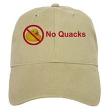 Rubber Duck: No Quacks Baseball Cap