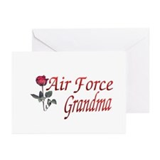 air force grandma Greeting Cards (Pk of 10)