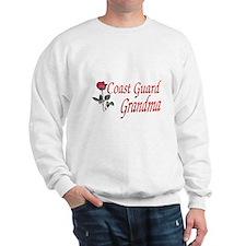 coast guard grandma Sweatshirt