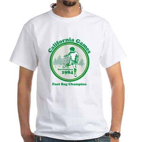Foot Bag Champion White T-Shirt