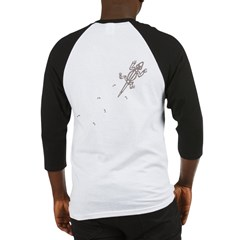 Climbing Lizard Baseball Jersey
