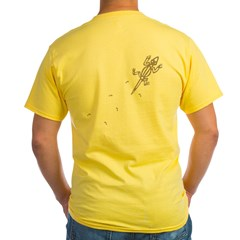 Climbing Lizard Yellow T-Shirt
