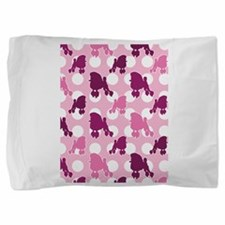 pink_Poodle_ipad.png Pillow Sham