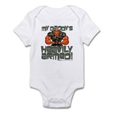 My Daddy's HEAVILY ARMED! Infant Bodysuit