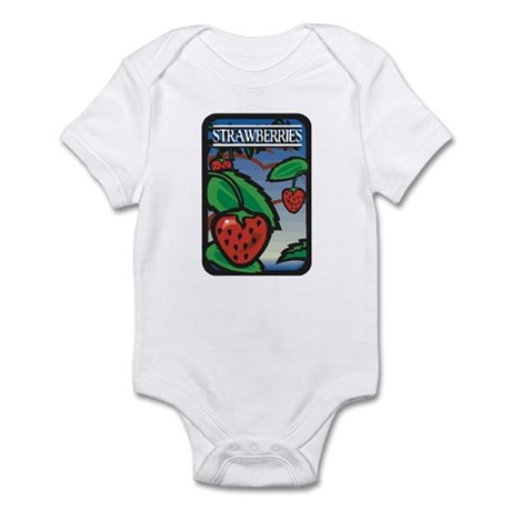 Strawberries Infant Bodysuit