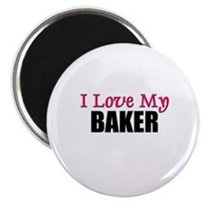 "I Love My BAKER 2.25"" Magnet (10 pack)"