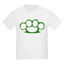 Green Brass Knuckles T-Shirt