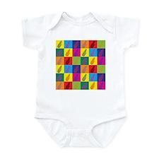 Pop Art Corn Infant Bodysuit