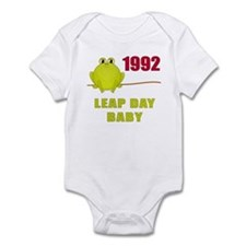 1992 Leap Year Baby Infant Bodysuit