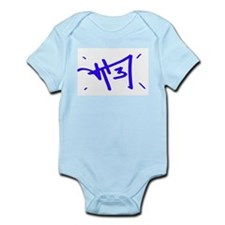 Cute Royal blue Infant Bodysuit