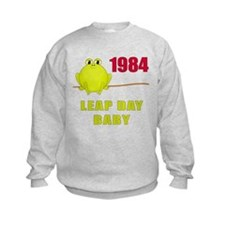 1984 Leap Year Baby Sweatshirt