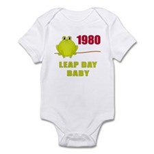 1980 Leap Year Baby Infant Bodysuit