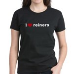 I love reiners slider Women's Dark T-Shirt