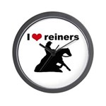 I love reiners slider Wall Clock