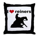 I love reiners slider Throw Pillow