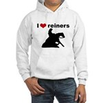 I love reiners slider Hooded Sweatshirt